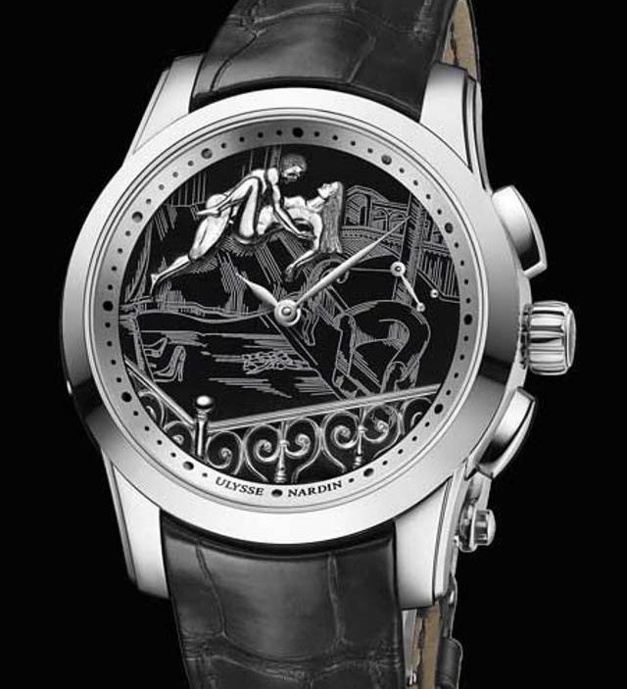 Les montres érotiques selon Ulysse Nardin