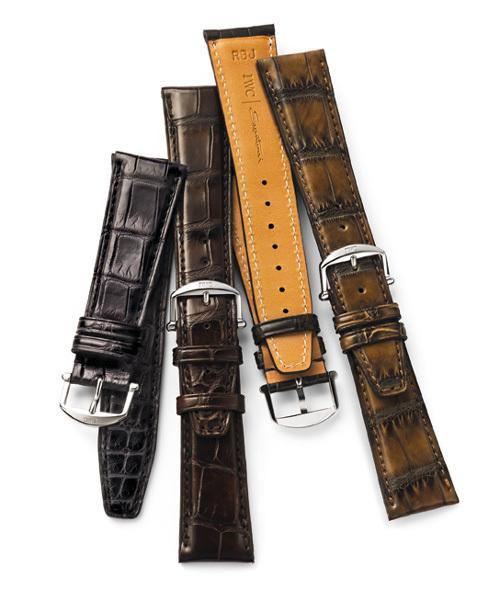 Santoni réalise des bracelets-montres pour la nouvelle IWC Portofino