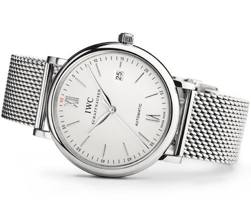 IWC Portofino Automatic : nouvelle taille, nouvelle forme et nouveau bracelet