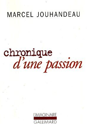 Chronique d'une passion, copyright Gallimard