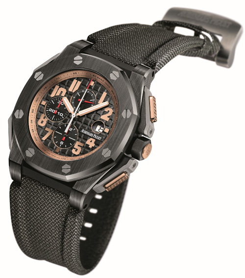 Chronographe Audemars Piguet Royal Oak Offshore Arnold Schwarzenegger The Legacy : l'aboutissement.