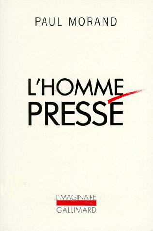 L'homme pressé, copyright Gallimard