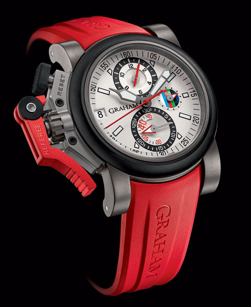 Chronofighter Oversize Referee : la montre Graham-London du Tournoi des 6 Nations