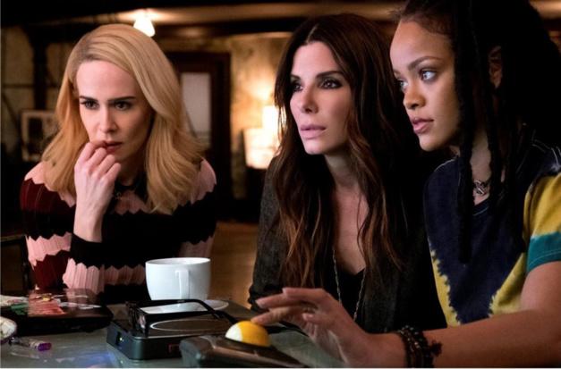 Ocean 8, Sarah Paulson, Sandra Bullock, Rihanna