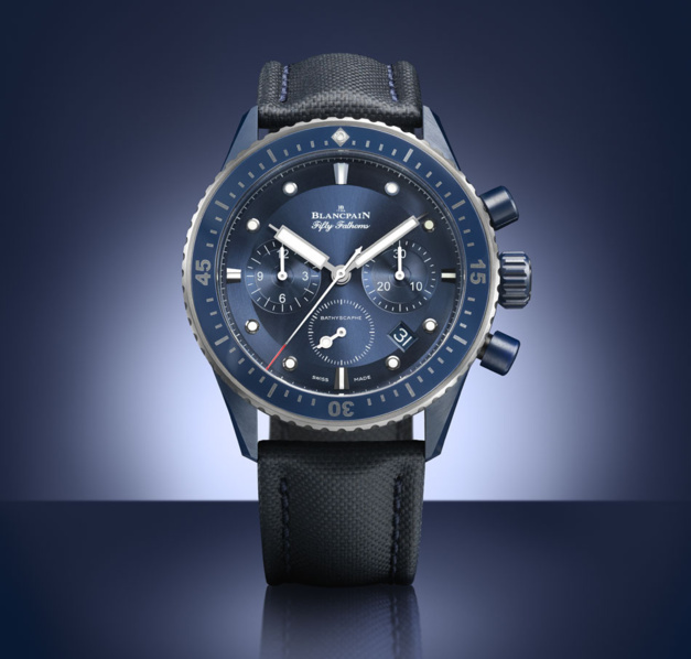 Blancpain Bathyscaphe Bucherer Blue Editions