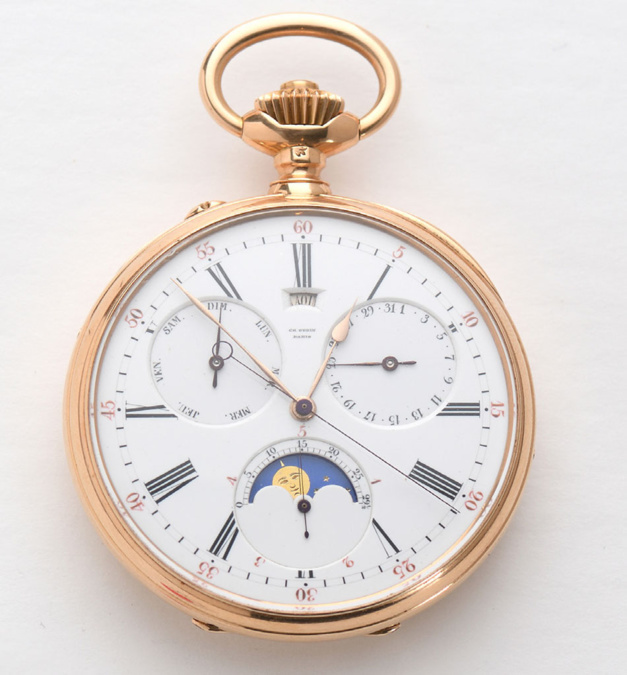 Drouot : Magnin Wedry propose une belle vente aux enchères de montres de gousset