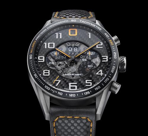 Chronographe TAG Heuer Carrera MP4-12C : clin d'œil au roadster McLaren MP4-12C