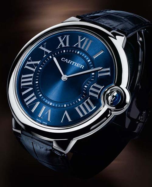 Cartier : une Ballon Bleu extra-plate