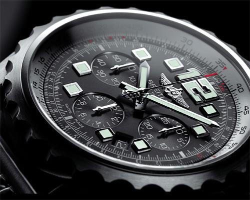 Breitling Chronospace Automatic : instrument pour pilotes