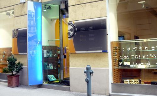 Boutique Chronotek à Vienne (Autriche)