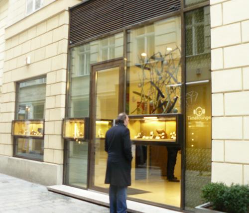 Boutique Timelounge à Vienne (Autriche)