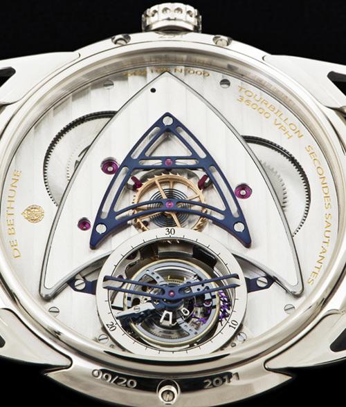 De Bethune Régulateur Tourbillon : repenser le tourbillon pour les montres de poignet