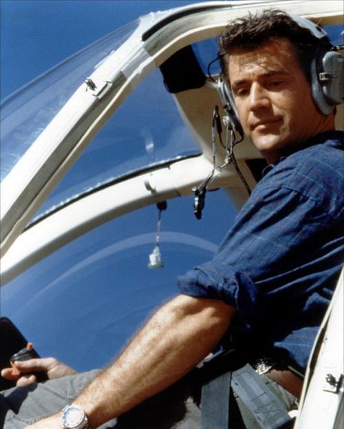 Mel Gibson dans Air America, copyright AMLF