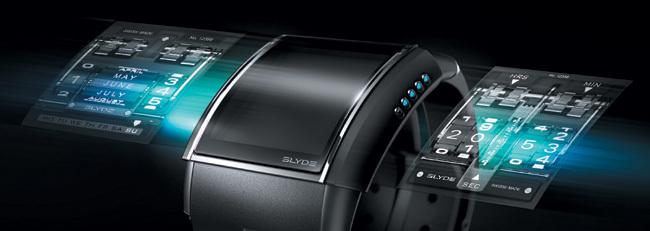 Slyde HD3 : une montre électronique à écran tactile pour une lecture du temps différente…