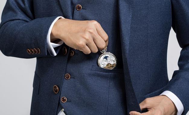 Aerowatch montre de poche Hebdomas