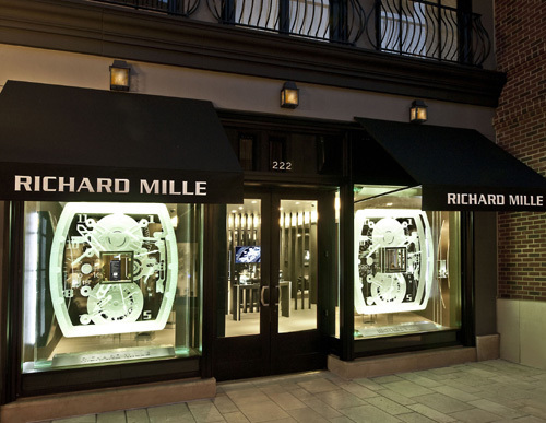 Richard Mille inaugure sa boutique de Beverly Hills