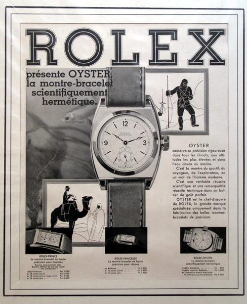 Aron Son propose de vieilles affiches de publicités horlogères : pour les toqués des tocantes