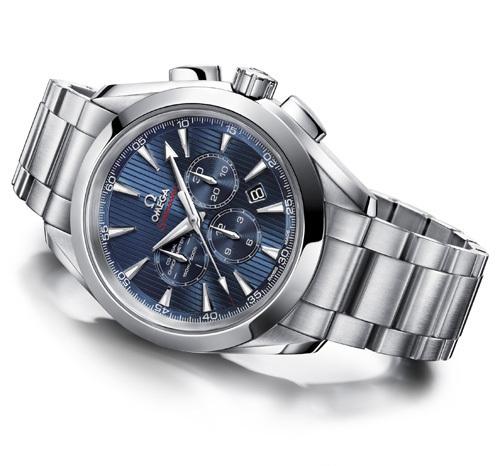 Londres J.O. 2012 : le chronographe Omega Seamaster Aqua Terra 44 London