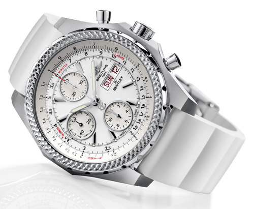 Breitling for Bentley Ice White