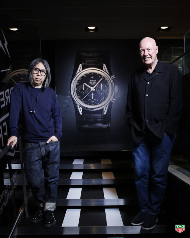 Hiroshi Fujiwara et Jean-Claude Biver à Tokyo