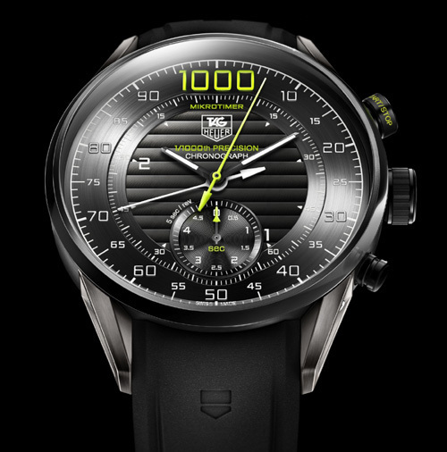 TAG Heuer Mikrotimer Flying 1000 : un concept watch qui affiche le millième de seconde