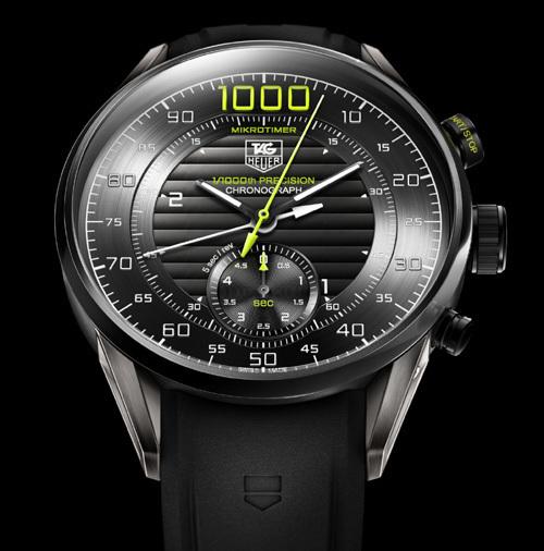 TAG Heuer Mikrotimer Flying 1000 : un concept watch qui affiche le millième de seconde