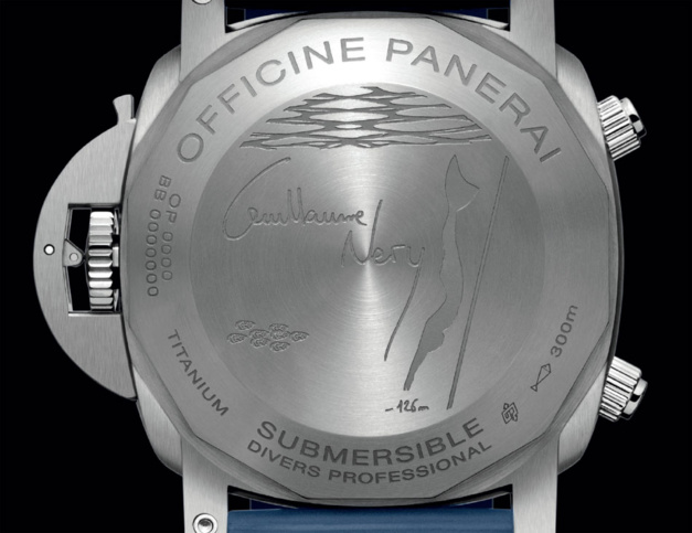 Panerai Submersible chrono édition Guillaume Néry