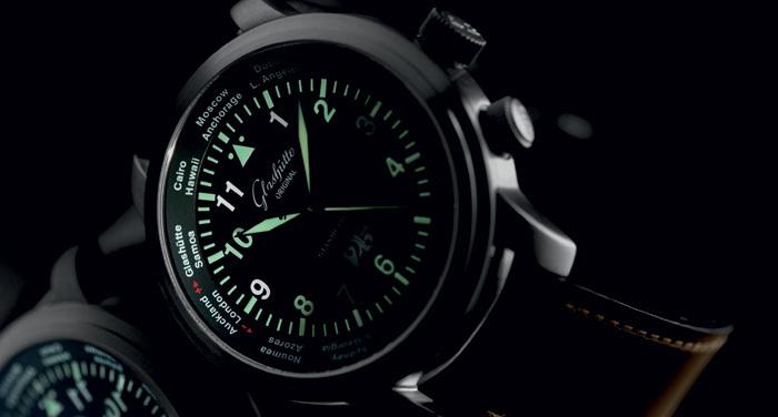 Navigator Worldview : les heures du monde selon Glashütte Original