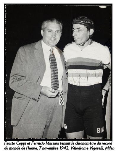 Sotheby's : mise en vente du chronomètre du record du monde de l'heure de Fausto Coppi