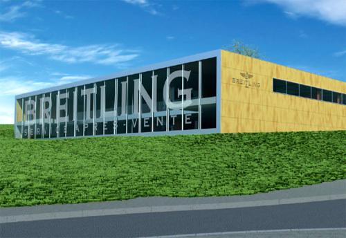 Breitling construit un nouveau centre de SAV ultramoderne à Besançon