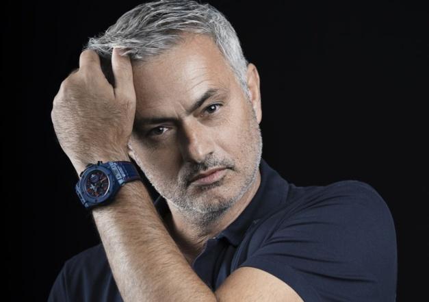 José Mourinho et sa Big Bang Hublot