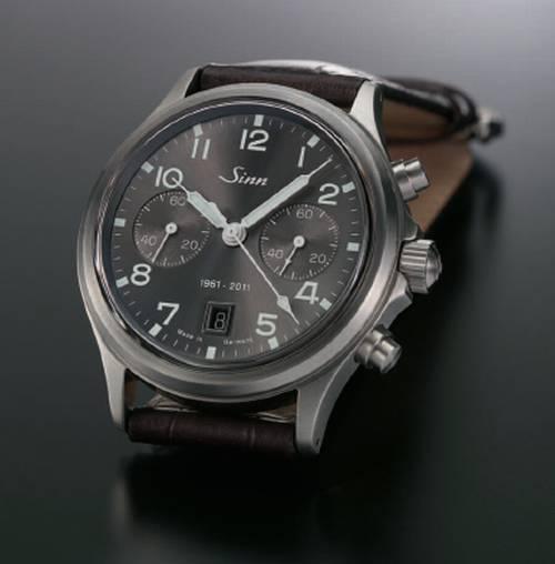 Sinn : le chronographe 358 Anniversaire… pour célébrer les 50 ans de la marque