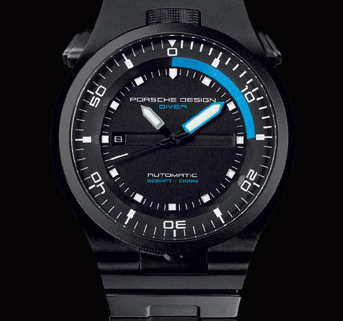 Porsche Design P 6780 Diver Black Edition Dans Le Noir