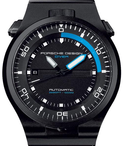 Porsche Design P'6780 Diver Black Edition : dans le noir des profondeurs abyssales