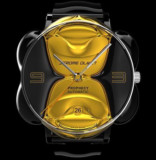 Prophecy : le projet horloger du designer Jérôme Olivet