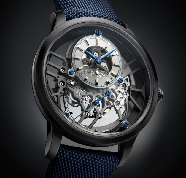 Jaquet Droz Grande Seconde Skelet-One céramique