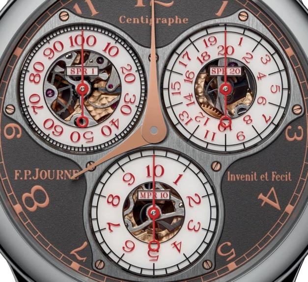 F.P. Journe célèbre les 10 ans de sa boutique parisienne avec le Centigraphe Anniversaire