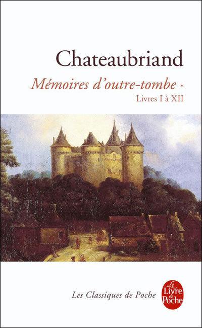 Mémoires d'outre-tombe, copyright Le livre de poche