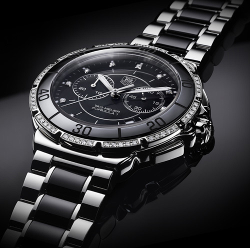 TAG Heuer chronographe Formula 1 Lady Steel and Ceramic