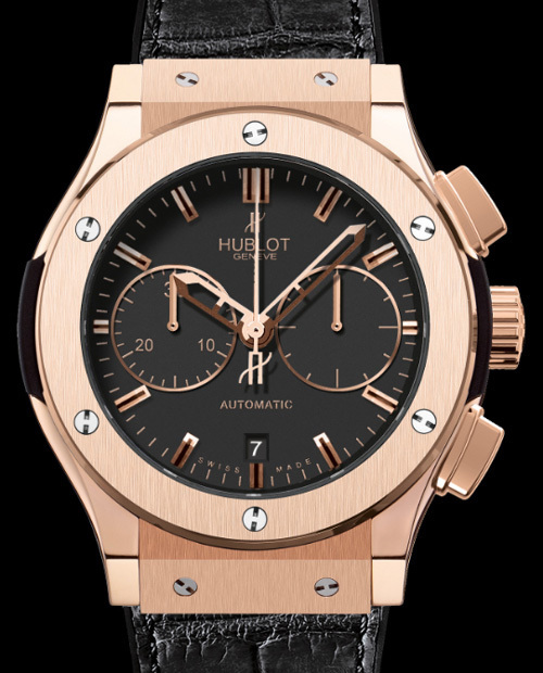 Hublot Classic Fusion chronographe : un chrono simple et efficace