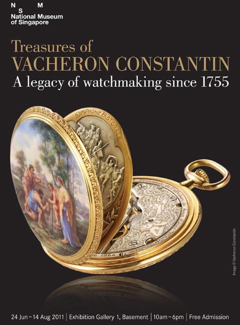 Singapour : une exposition exceptionnelle du patrimoine horloger de la manufacture Vacheron Constantin