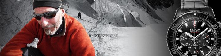 Antoine Cina : porter l'étoile Zenith sur le Toit du monde