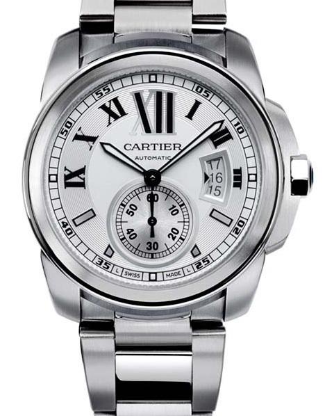Cartier Calibre : désormais disponible sur bracelet acier