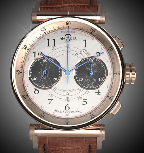 Arcadia Vintage 22 : un hommage à la tradition horlogère…