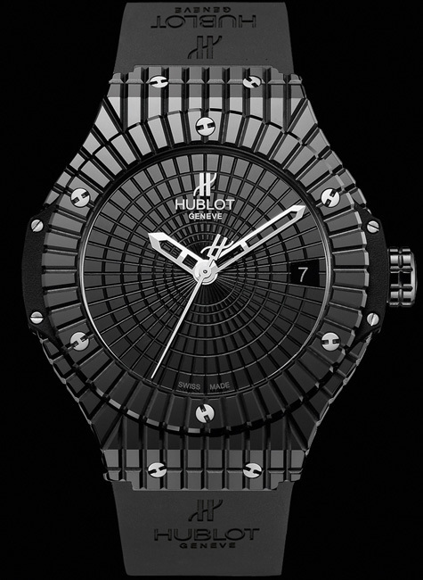 Hublot Big Bang Black Caviar : le look total céramique