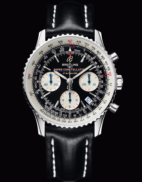 Breitling Navitimer Super Constellation : vol long-courrier à bord du « roi de l'Atlantique »