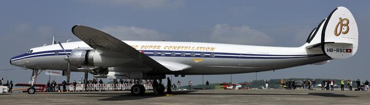Breitling Navitimer Super Constellation : vol long-courrier à bord du « roi de l'Atlantique »