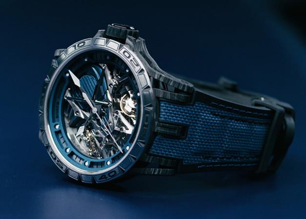 Roger Dubuis Excalibur Aventador S Bucherer Blue Editions