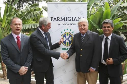 Parmigiani Fleurier : horloger officiel de la Fédération brésilienne de football