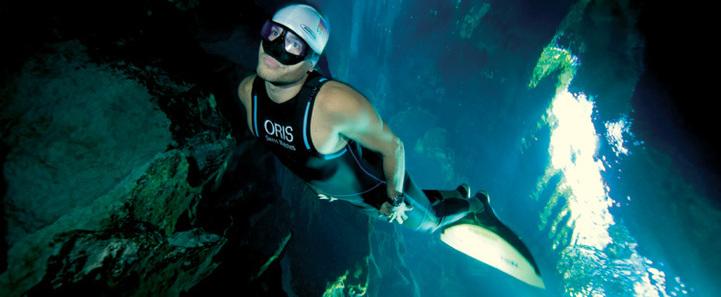Oris Carlos Coste Limited Edition – Cenote Series : à bout de souffle